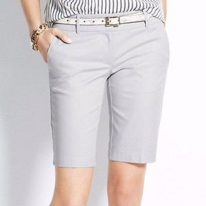 Ann Taylor Boardwalk shorts in gray